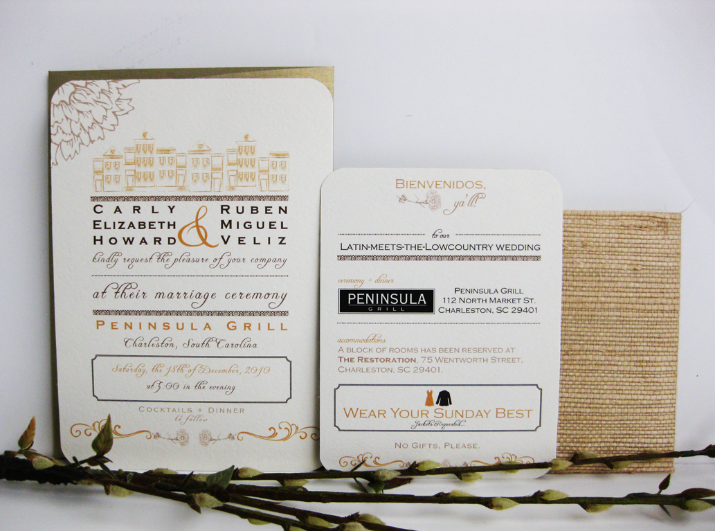 The Wedding Row | invitations {favorite things}