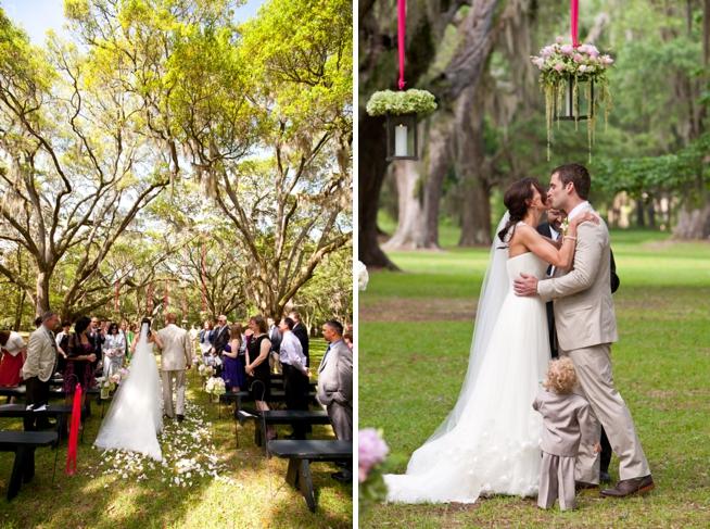 meghan amp joshua litchfield plantation wedding row