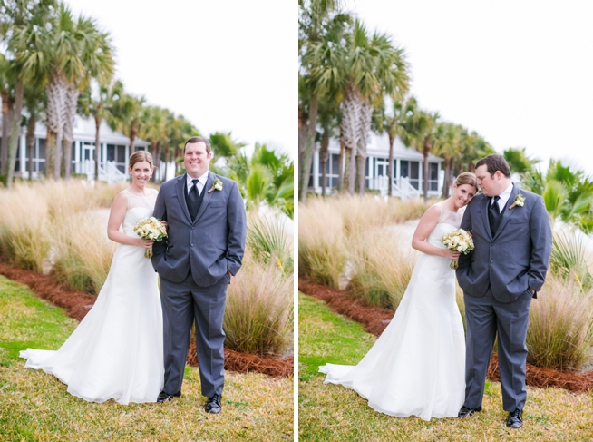The Wedding Row | Shea & Jacob {Charleston Harbor Resort}