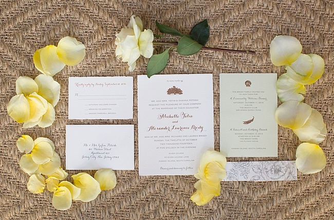 The Wedding Row | Michelle & Alex {River Course on Kiawah Island}